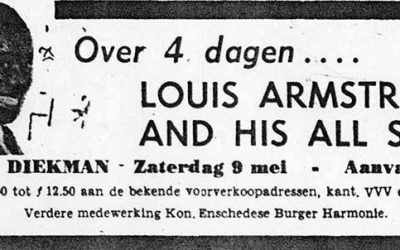 Louis Armstrong in Enschede