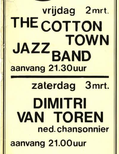 Poster van dit concert