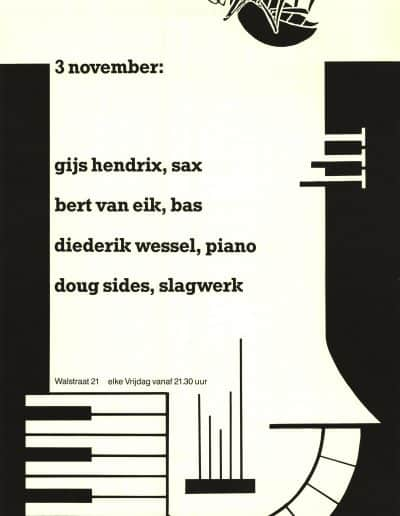 Poster bij dit concert